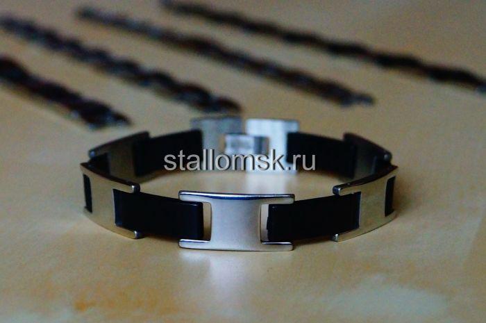 Броненосец, браслет, ювелирная сталь, авторская работа