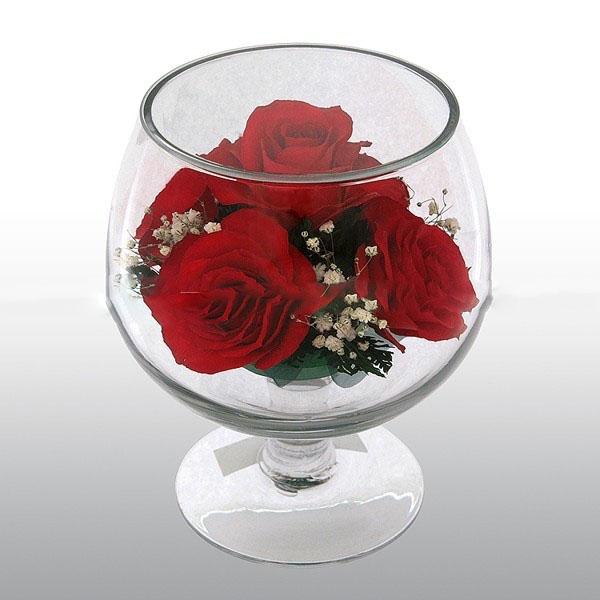 Купить цветы в стекле в москве